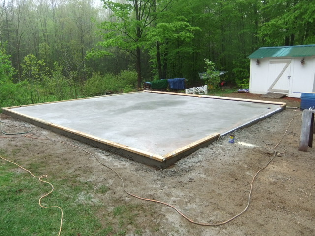 Welcome hstrial for Garage slabs